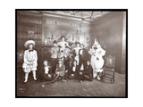 A Group in Costume at the Home of Miss Morgenthau  30 West 72nd Street  New York  1906