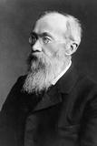 Portrait of German Psychologist Wilhelm Wundt