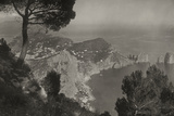An Elevated View of Capri from the Heights of Monte Solaro  Naples  1922