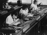 Assembly Line for Television Broadcasting Equipment at the Telefunken Manuf