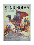 Front Cover of St Nicholas Magazine  July 1927