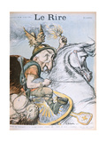 Caricature of Emile Combes  Cover of 'Le Rire' Magazine  12th March 1903