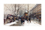 Bookstalls in Winter  Paris
