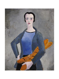 Girl with Bread  1926