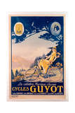 Poster Advertising Guyot Bicycles