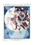 Mars Wooing a Young Lady  from 'La Vie Parisienne'  29th October 1921