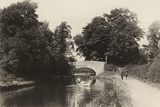 A Scene on the Oxford Canal  Near Leamington  1922