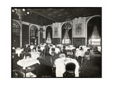 Dining Room at the Copley Plaza Hotel  Boston  1912 or 1913