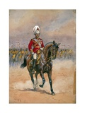 His Majesty the King Emperor  1910  Illustration for 'Armies of India' by M