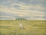 Stonehenge and Figure  1910