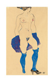 Standing Woman with Shoes and Stockings  1913