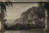 View from a Terrace Overlooking the Old Certosa Monastery  Capri  1922