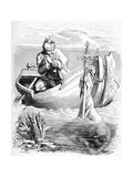 Sir Bedivere Sees an Arm Catching King Arthur's Sword in the Lake  1901