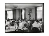 A Dining Room at the Hotel Majestic  1916 or 1917