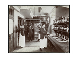 A Pantry at the Hotel Manhattan  1902