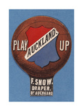 Play Up Aukland F Snow Draper BP Auckland