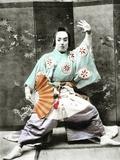 Kabuki Actor  1901