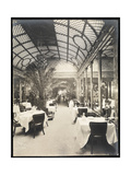 Dining Room at the Hotel Imperial  1904