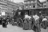 Sisters of St Vincent de Paul Leaving  Gare de l'Est  Paris  1914