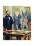 General Ulysses Grant Accepting the Surrender of General Lee at Appomattox