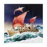 Kon-Tiki on its Epic Voyage