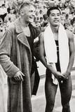 Erwin Sietas and Tetsuo Hamuro at the Berlin Olympics  1936  Erwin Sietas (