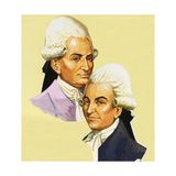 Joseph and Jacques Montgolfier