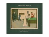 A Billiard Match - the Canon