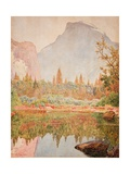 Half Dome  Yosemite  1926