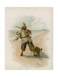 Illustration for Robinson Crusoe