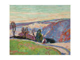 Puy Barriou and the Valley of La Creuse  c1915