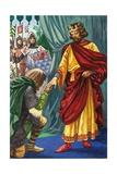 The Welsh Leader  Llewelyn  Surrenders to King Edward