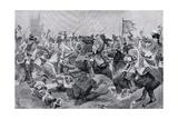 The Battle of Malplaquet  c1910