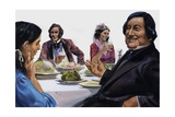 Rossini Loved to Eat and His Wife's Dinner Parties Were Legendary