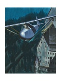 Glider Escape from Colditz Castle