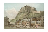 The Castle from the Grassmarket - Edinburgh