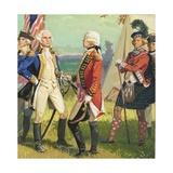 Surrender of Lord Cornwallis to George Washington