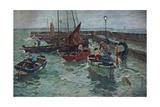 Harbour Scene  c1915