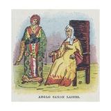Anglo Saxon Ladies  Women  Females