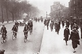 City Workers Walk to Office  May 1926
