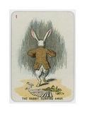 The Rabbit Running Away