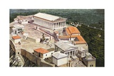 The Acropolis and Parthenon