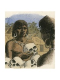 Human Skulls Being Used as Currency by the Head Hunters of Borneo