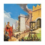 Scipio Aemilianus Leading the Assault on Carthage