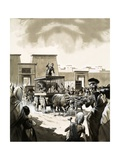 Transporting Lions to the Circus in Rome