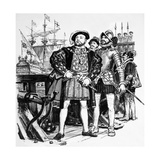 Henry VIII Who Built Up England's Navy from a Mere Seven to Eighty-Five Vessels