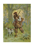 Robinson Crusoe Out Hunting