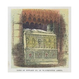 Tomb of King Edward III in Westminster Abbey