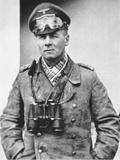 Erwin Rommel in Typical Desert Dress of the North African Campaign  c1941