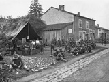 American Quarters in a French Village  1917-18